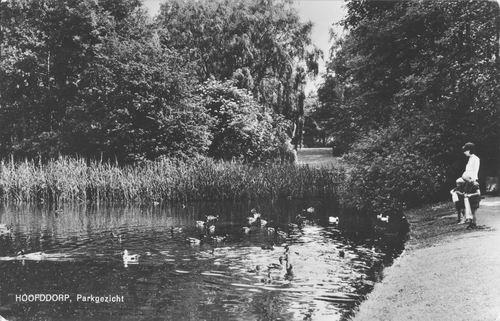 Boslaan Wandelpark 1966 Eilandje.bmp