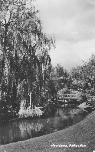 Boslaan Wandelpark 1970 Middenvijver