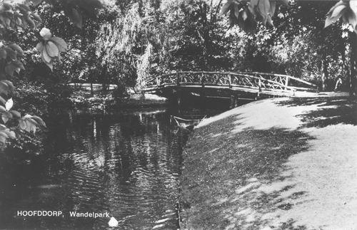 Boslaan Wandelpark 1970 Voorsloot
