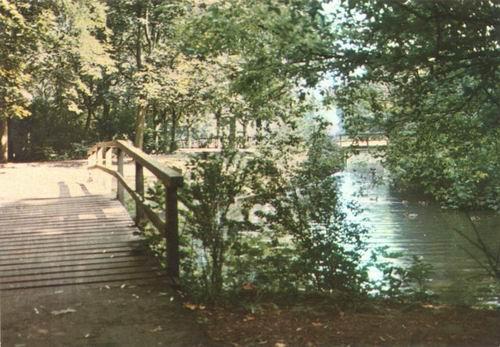 Boslaan Wandelpark 1973 Voorsloot kleur 02