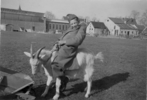 Bosman Gerrit 1944 op de Bok voor Oude Schuren Spaans