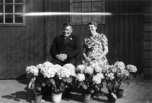 Bosman Jan 1949 25jr Huwelijk met Gerdien v Krimpen