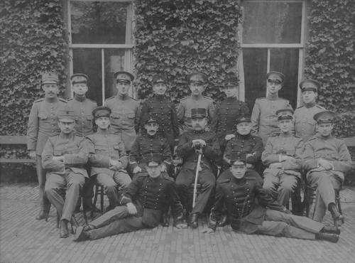 Bosman Pieter Adriaan 1893 19__ KNIL officiers opleiding in Kampen