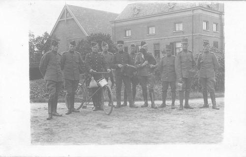 <b>ZOEKPLAATJE:</b>Breure Onbekend 1918 Militair J Slootweg 392