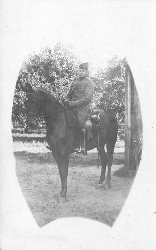 <b>ZOEKPLAATJE:</b>Breure Onbekend 1918 Militair J Slootweg 977