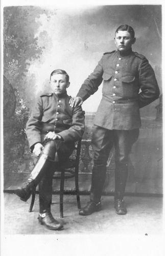 <b>ZOEKPLAATJE:</b>Breure Onbekend 1918 Militair J Slootweg 998
