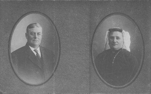 Wieringen Gijsbert van 1863 1923 Portret met vrouw Bertha H Berrevoets