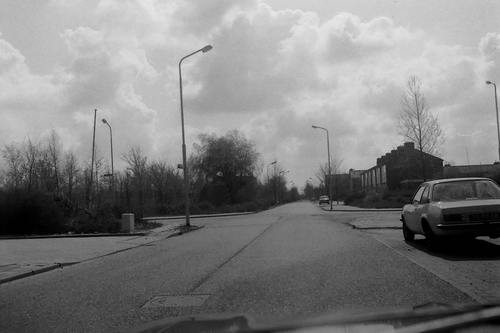 Broekermeerstraat 1979  bij kruising Beetslaan