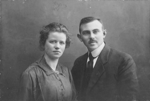 Bulk Cornelis 1885 1916 Portret Verloving met Anna Westerdijk