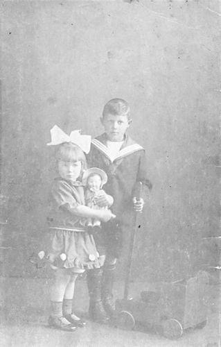 Bulk Cornelis 1885 1924 Kinderen met Moeder Anna 02