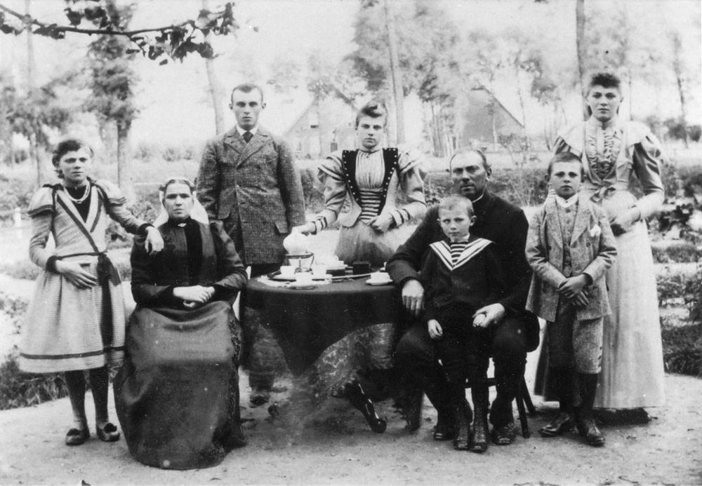 Bulk Jan Dirk 1850 1895 Gezinsfoto