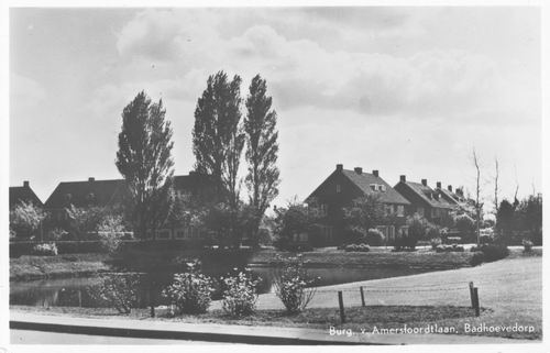 Burg Amersfoordtlaan 1956 Vijver