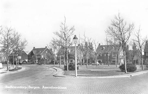 Burg Amersfoordtlaan O 0078- 1950 met Bureau Rijkspolitie