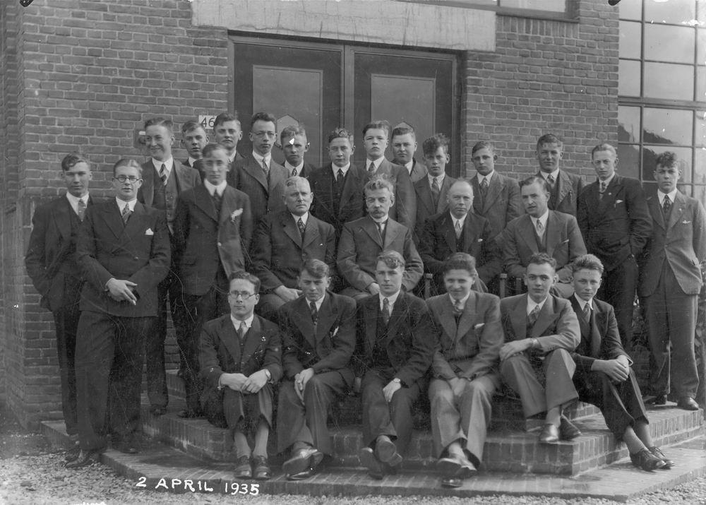 Christelijke Middelbare Landbouwschool 1936 Gediplomeerden