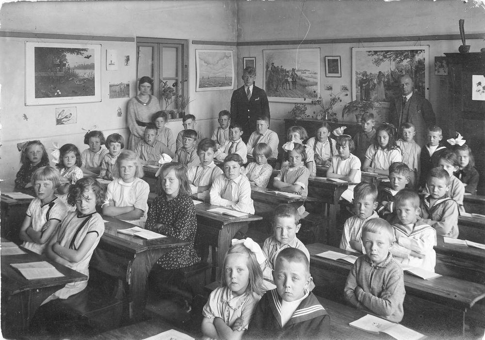 Christelijke School Abbenes 1934 Hoofdweg