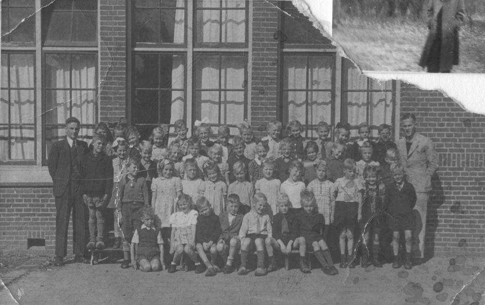 Christelijke School Hoofddorp 1948 klas 2