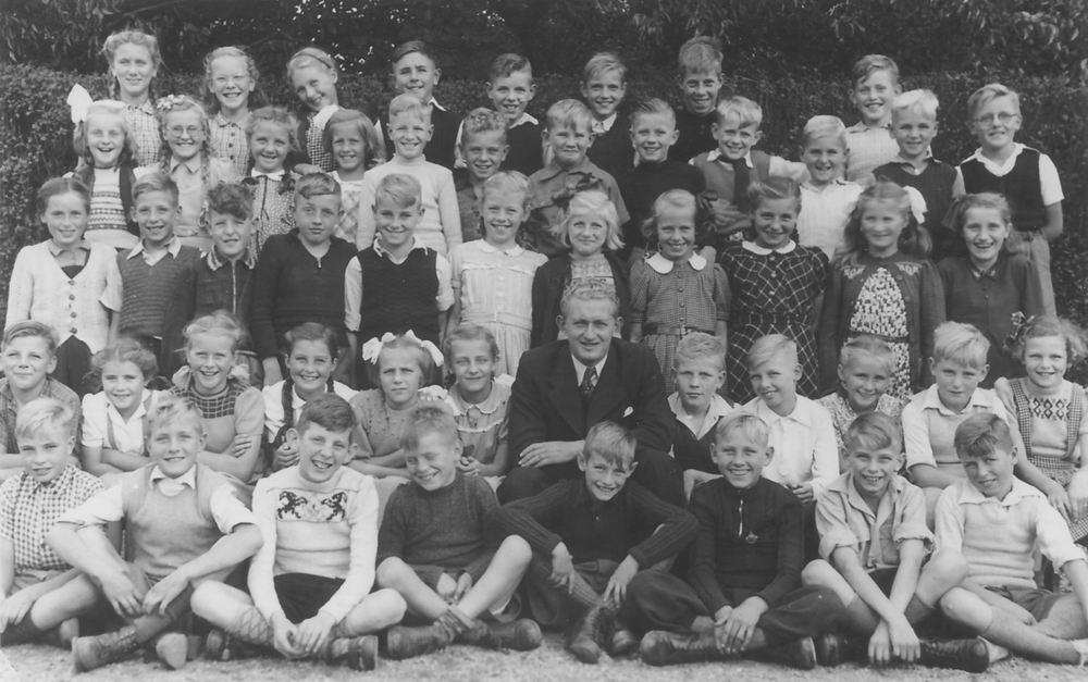 Christelijke School Hoofddorp 1950 klas 5