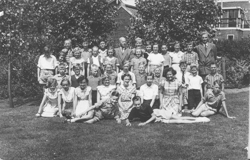Christelijke School Hoofddorp 1952 Klas 6_2