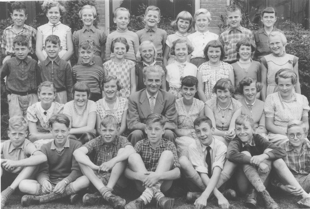 Christelijke School Hoofddorp 1956 Klas 6