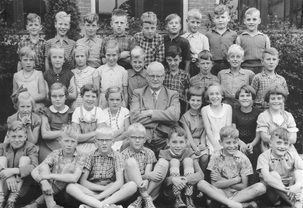 Christelijke School Hoofddorp 1956 Klas Onbekend 02