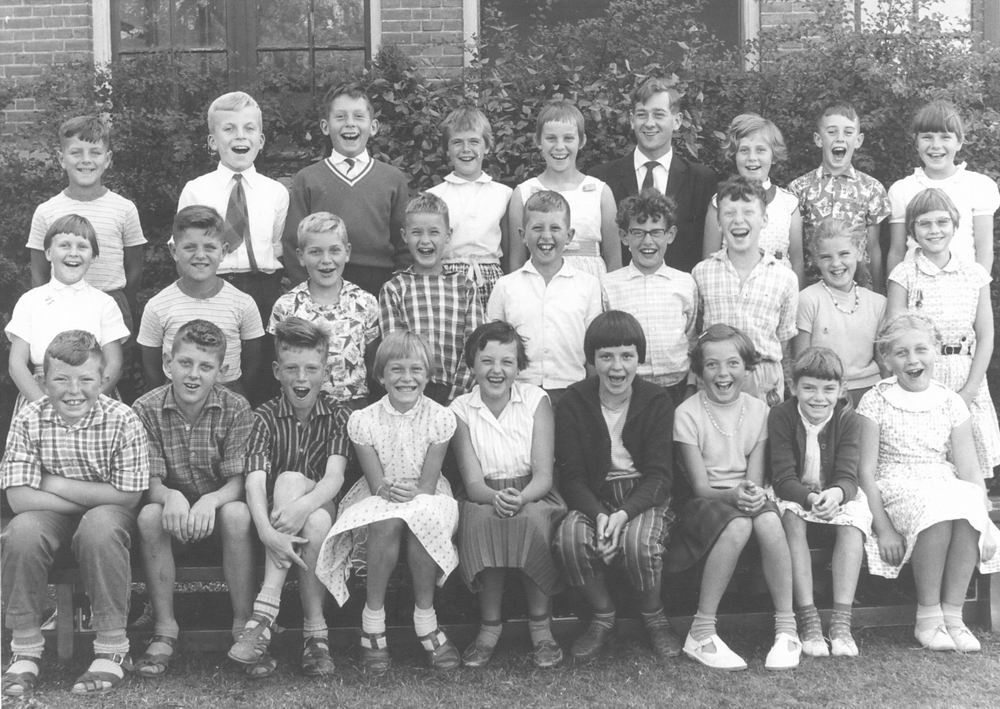 Christelijke School Hoofddorp 1961-62 Klas 5