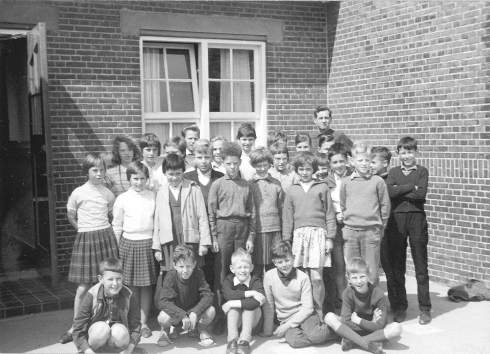 Christelijke School Hoofddorp 1962-63 Klas 4 5 en 6 Combi