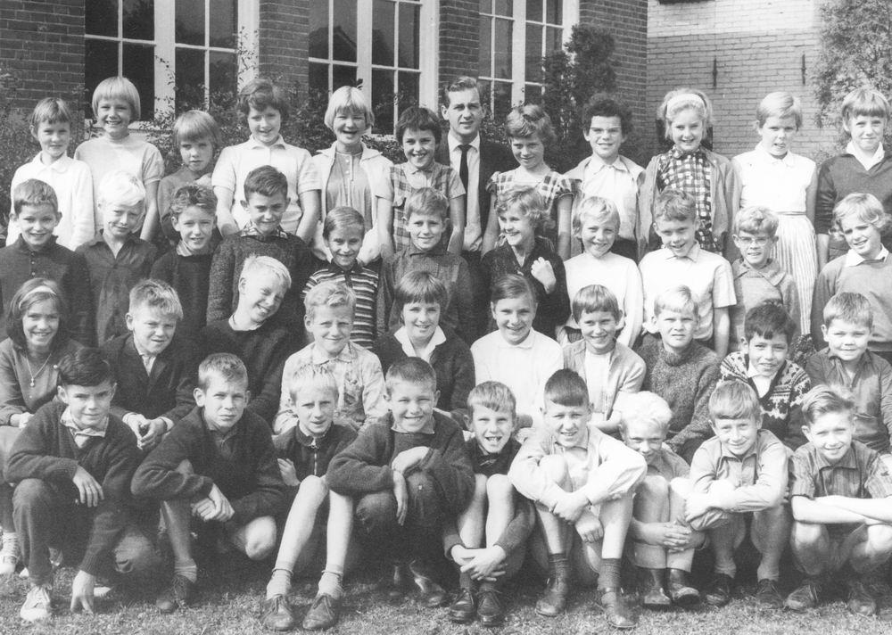 Christelijke School Hoofddorp 1963-64 Klas 4 5 Combi
