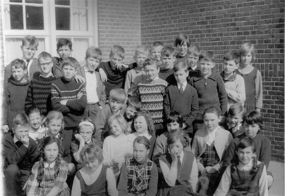 Christelijke School Hoofddorp 1964-65 Klas 4