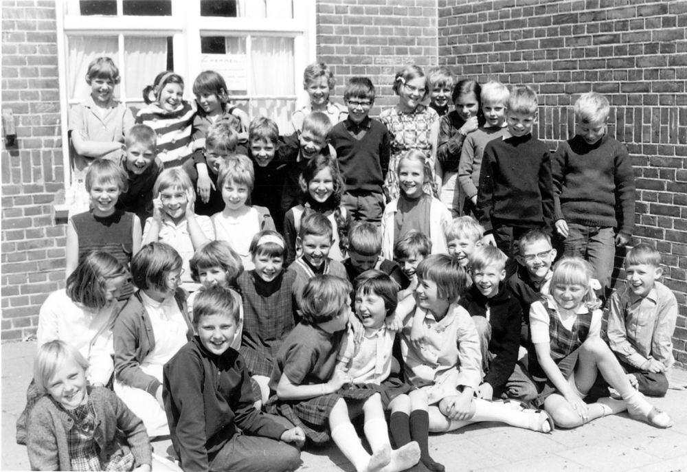 Christelijke School Hoofddorp 1965-66 Klas 3-4 Combi
