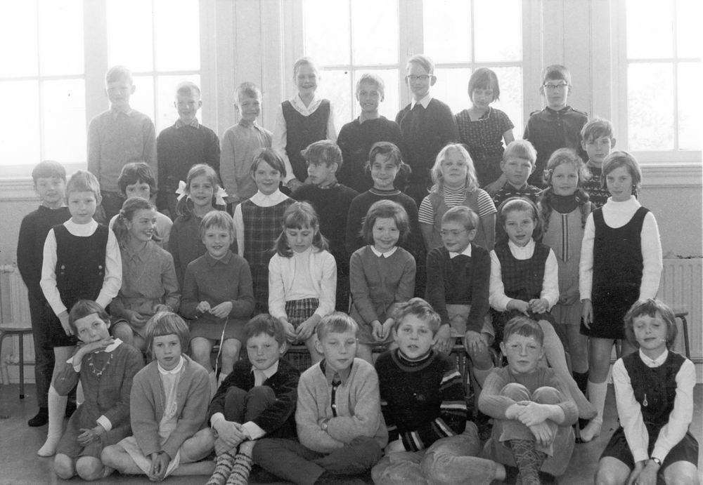 Christelijke School Hoofddorp 1967-68 Klas 3-4 Combi