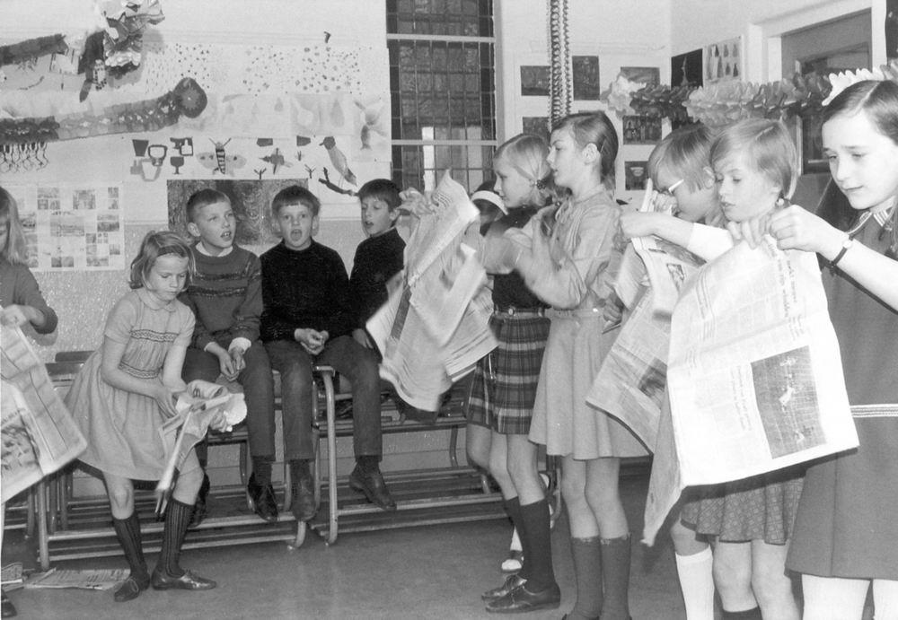 Christelijke School Hoofddorp 1969-70 Klas 4 01