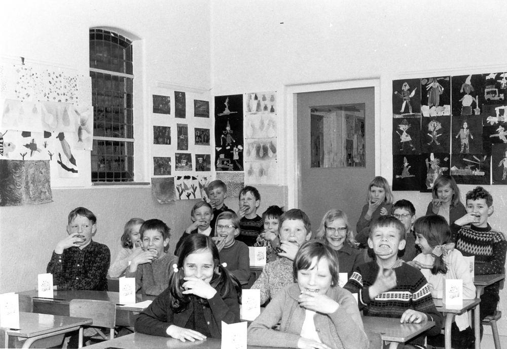 Christelijke School Hoofddorp 1969-70 Klas 4 02