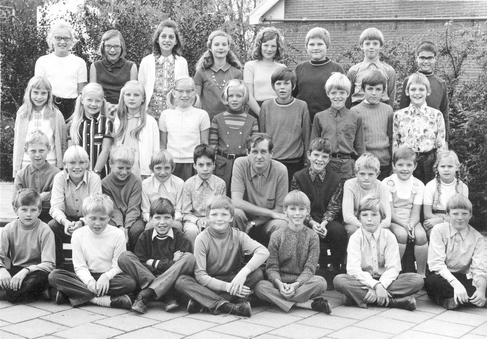 Christelijke School Hoofddorp 1970-71 Klas 5