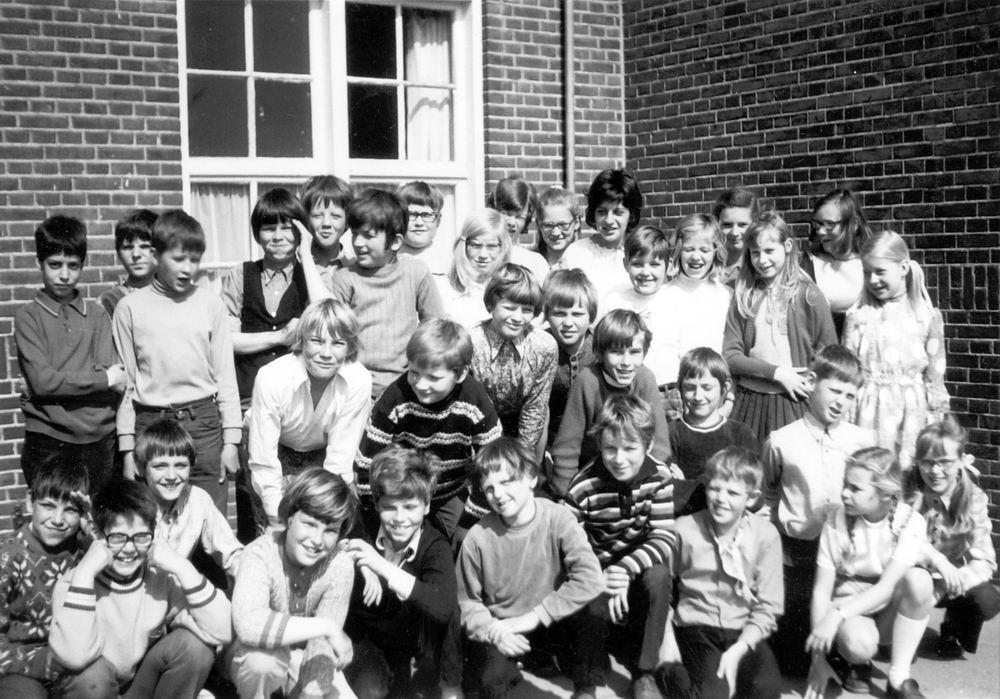 Christelijke School Hoofddorp 1971-72 Klas 4 5 Combi
