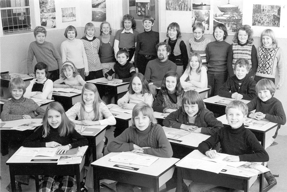 Christelijke School Hoofddorp 1972-73 Klas 5
