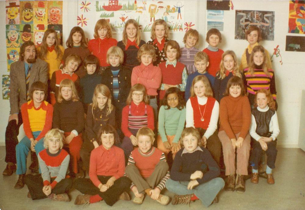 Christelijke School Hoofddorp 1973-74 Klas 5