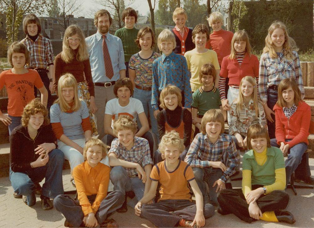 Christelijke School Hoofddorp 1975-76 Klas 6