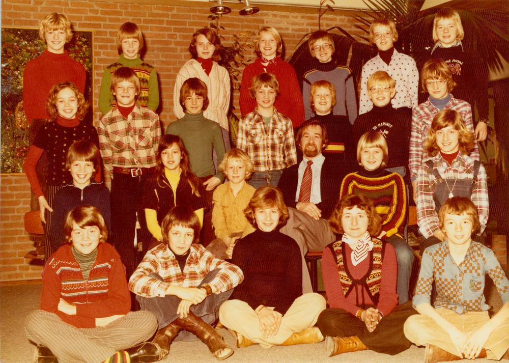 Christelijke School Hoofddorp 1976-77 Klas 6