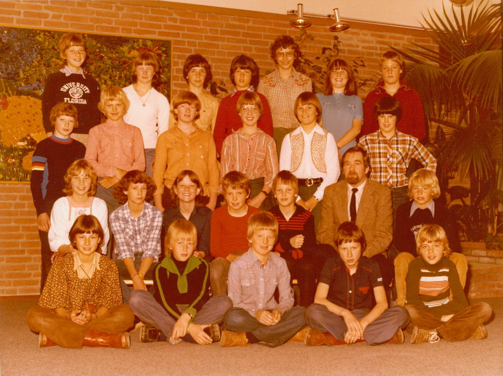 Christelijke School Hoofddorp 1977-78 Klas 6 01