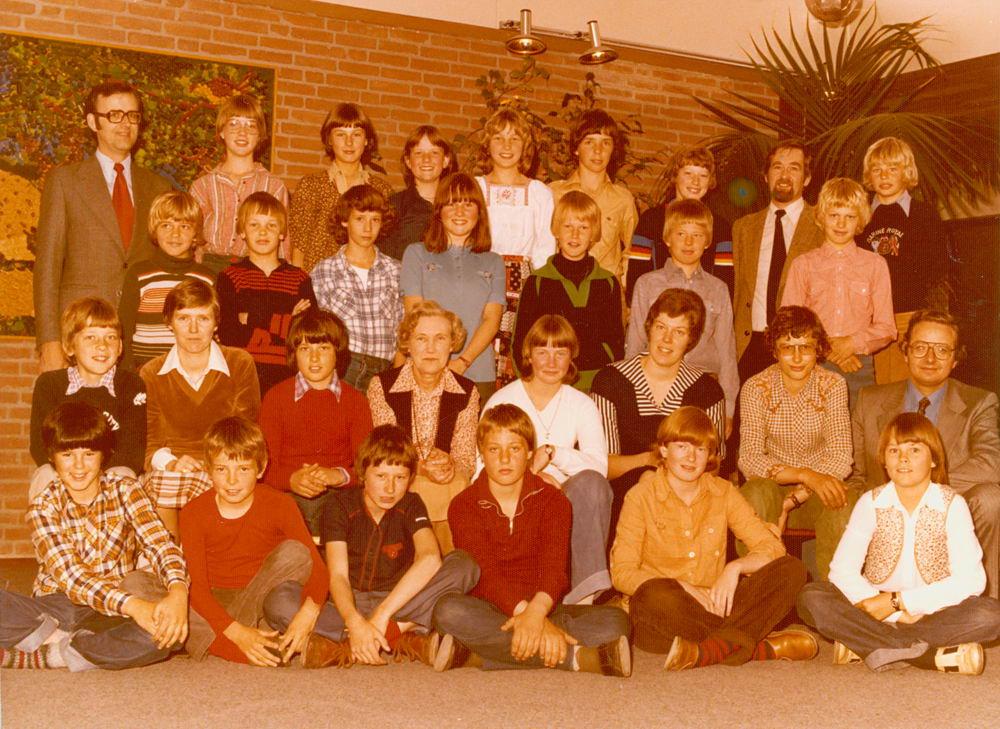 Christelijke School Hoofddorp 1977-78 Klas 6 02