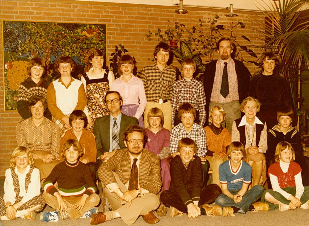 Christelijke School Hoofddorp 1978-79 Klas 6 02