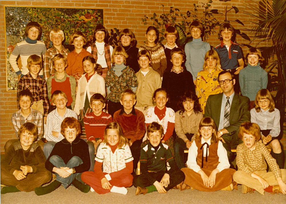 Christelijke School Hoofddorp 1979-80 Klas 6