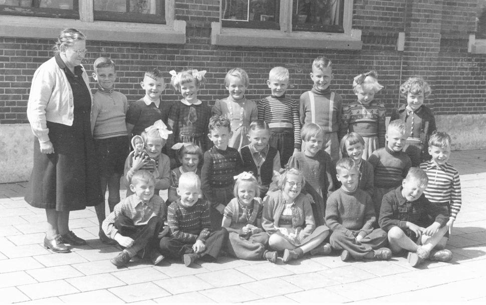 Christelijke School Rijk Aalsmeerderweg 1954_55 Klas 1
