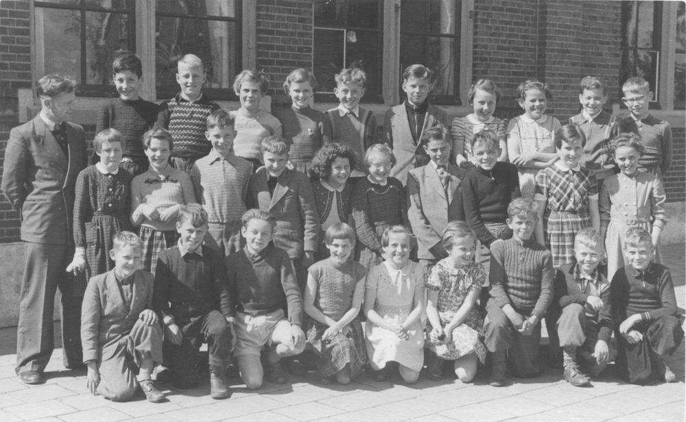 Christelijke School Rijk Aalsmeerderweg 1954_55 Klassen 4 en 5