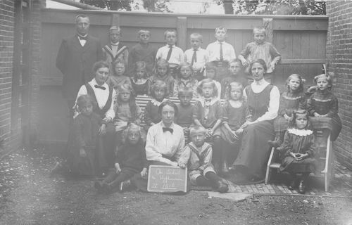 Christelijke School Vijfhuizen 1916 Klas 4 .JPG