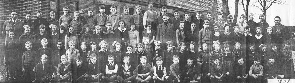 <b>ZOEKPLAATJE:</b>Christelijke School Vijfhuizen 1938 Alle Klassen 00