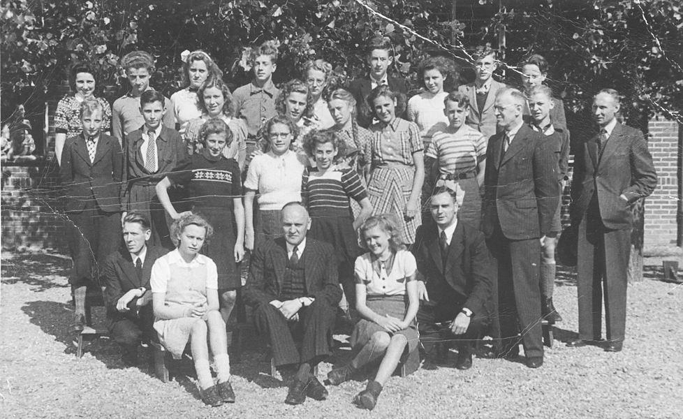 Christelijke ULO Hoofddorp 1947 Klas 4