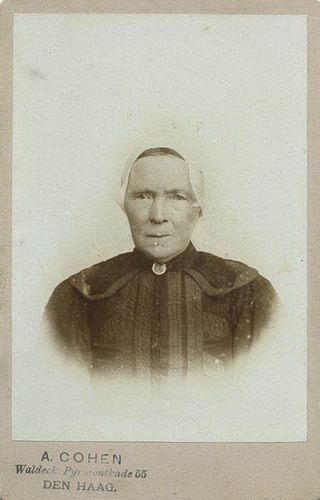 Colijn Antonie 1833 19__ Portret met vrouw Anna Verkuyl 02
