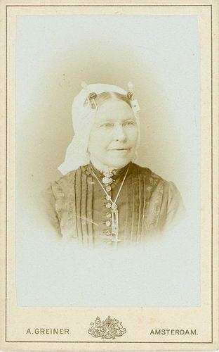 Commandeur - Keet Joanna 1828 19__ Portret 01