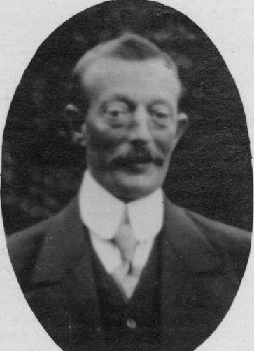 Commandeur Pieter 1920 Bidprentje 01